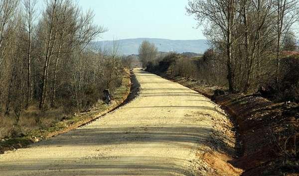 El viejo trazado del tren que forma parte de este nuevo camino. <br>Fuente: El correo de Burgos.