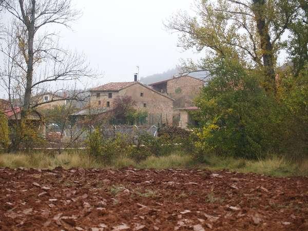 Detalle del caserío de Cobos.