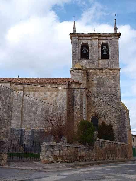 La iglesia de Santa Juliana destaca por su sobriedad.
