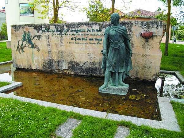 Monumento al Cid Campeador.