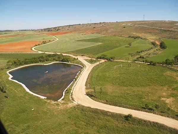 El Páramo de Masa se extiende por Cernégula, alrededor de la laguna de Las Brujas.